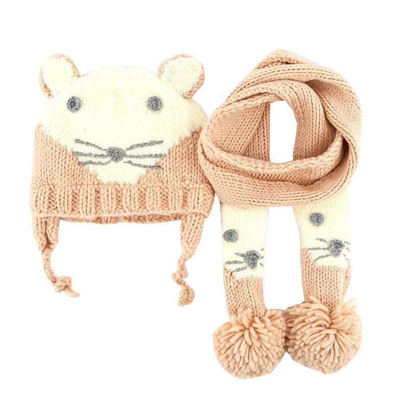 Cute Cat Knitted Baby Hats - Chilly Baby