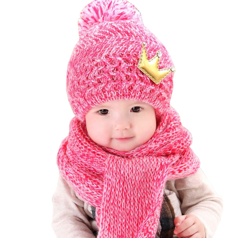 Winter Warm Baby Hat Scarf set - Chilly Baby