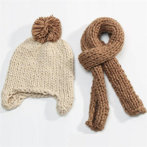 New Children Baby Winter Hat Scarf set - Chilly Baby