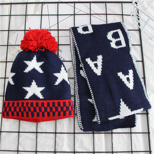 Stars Knit Baby Hats - Chilly Baby