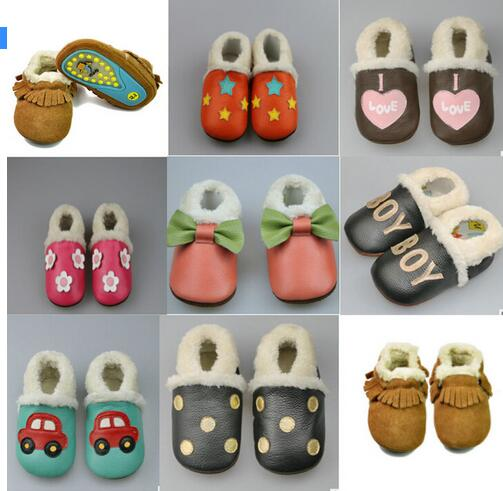 Girl Rubber Soled Outdoor Shoes - Chilly Baby