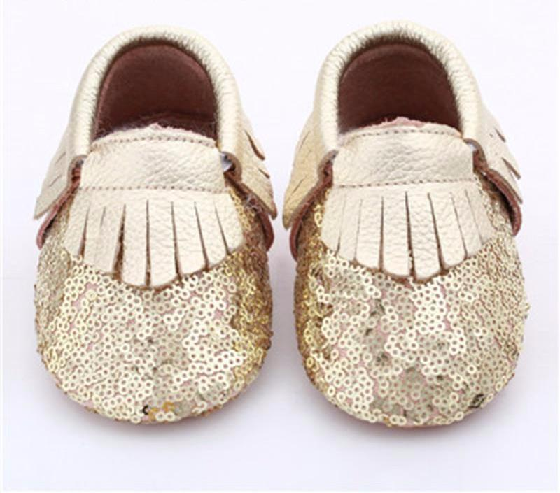 Genuine Leather Tassel Toddler Baby Shoe - Chilly Baby