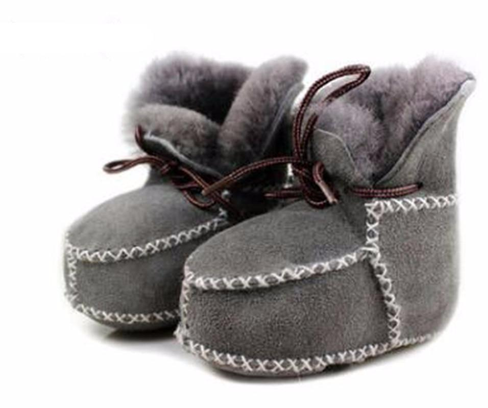 Genuine Leather baby PU leather boots - Chilly Baby