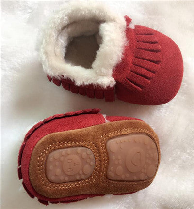 Genuine Leather Baby shoes - Chilly Baby
