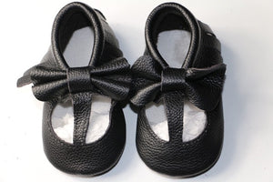New Genuine Leather Baby Moccasins Shoes - Chilly Baby