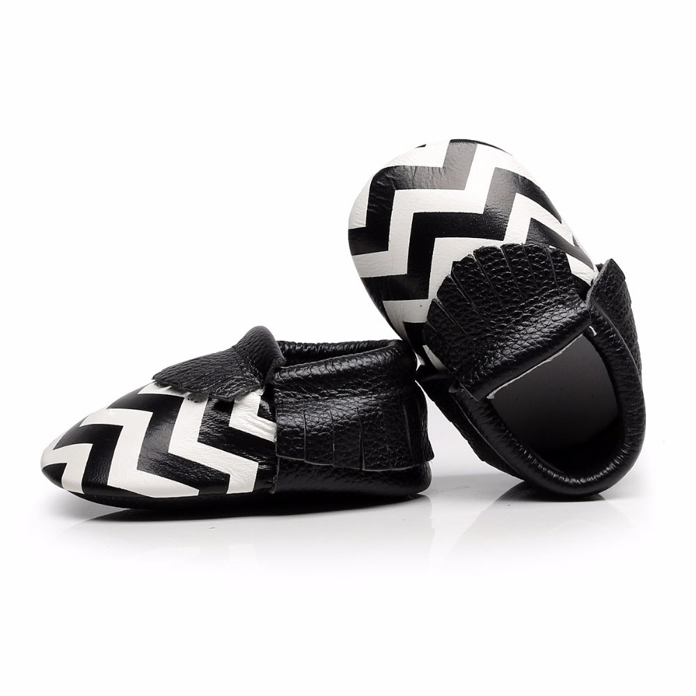 Genuine Leather Baby Anti-slip soft sole shoes - Chilly Baby