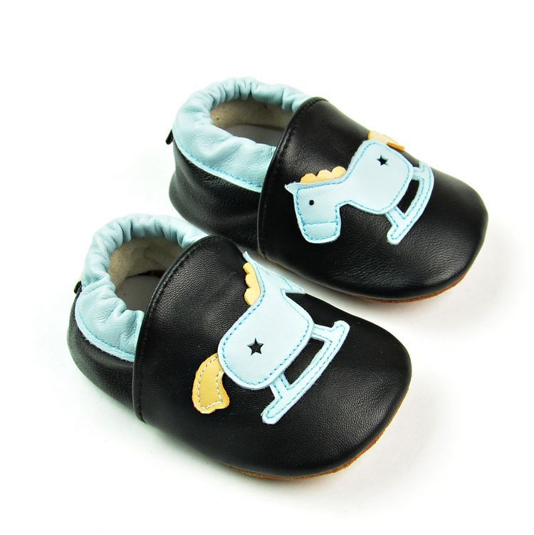 Baby moccasins leather shoes - Chilly Baby