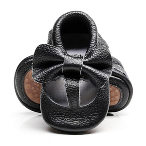 Genuine Leather Newborn First Walkers Crib baby shoes - Chilly Baby
