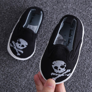 Halloween Ghost Holiday Canvas Baby  Shoes - Chilly Baby