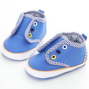 Soft Bottom Anti-slip T-tied First Walkers - Chilly Baby