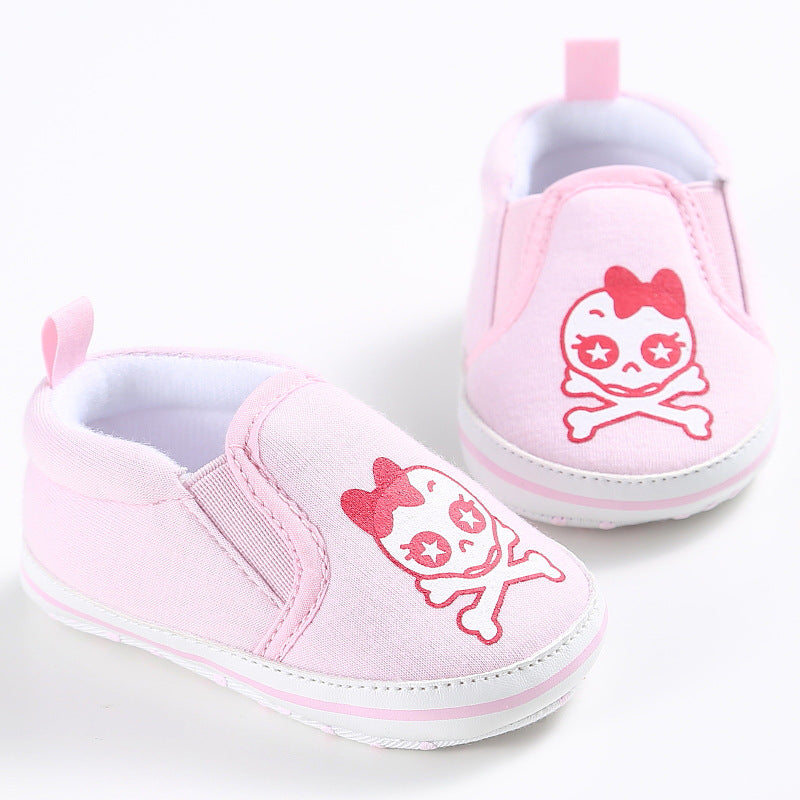 Soft Bottom Graffiti Baby Shoes - Chilly Baby