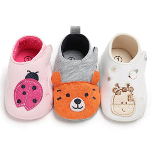 Animal Print First Walkers Toddler Shoes - Chilly Baby