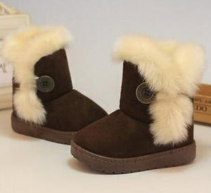 Winter Warm Thick Plush Kids Boots - Chilly Baby