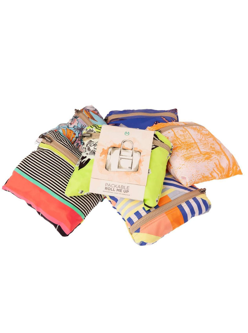 ASSORTED PACKABLE ROLL ME UP BAG