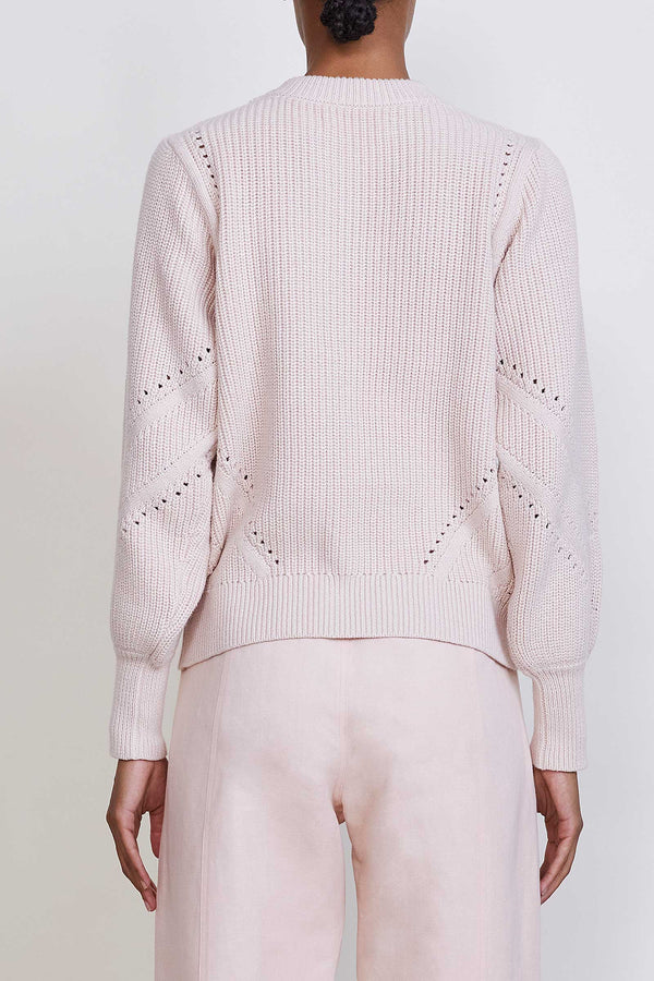 SUN SWEATER IN BALLET PINK