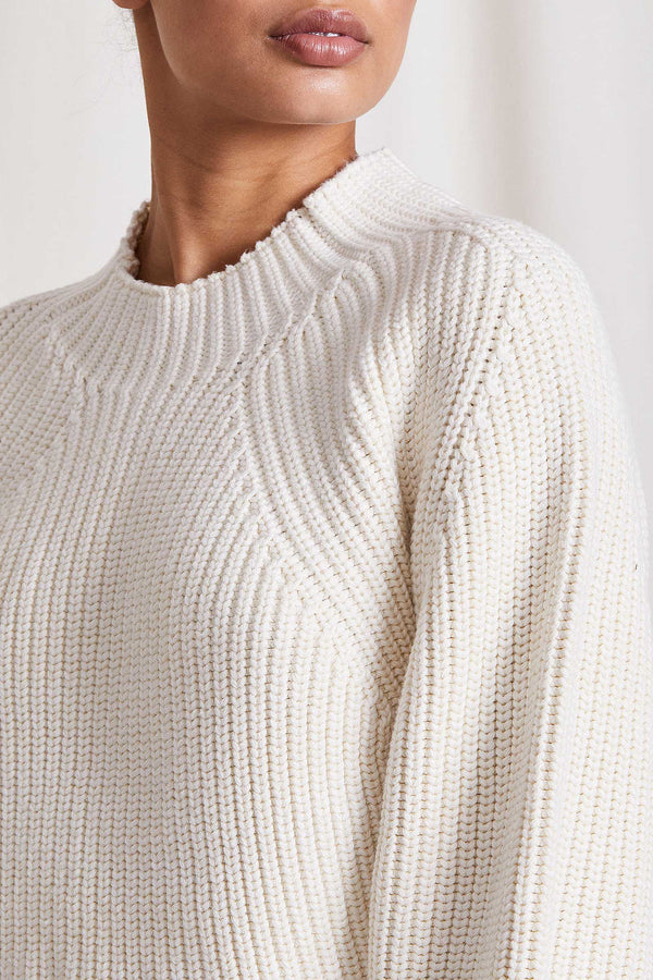 MEREL FUNNEL NECK SWEATER