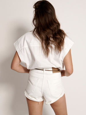 Bandits High Waist Denim Short
