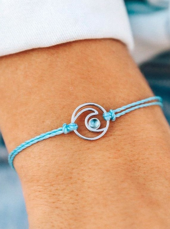 SHIMMERING WAVE CHARM | 2 COLORS
