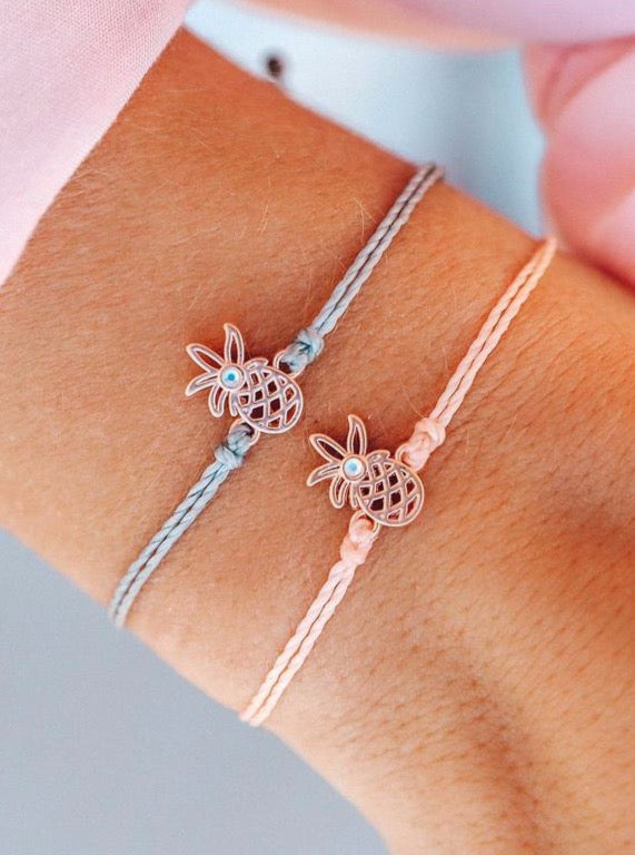 OPEN PINEAPPLE CHARM | 2 COLORS