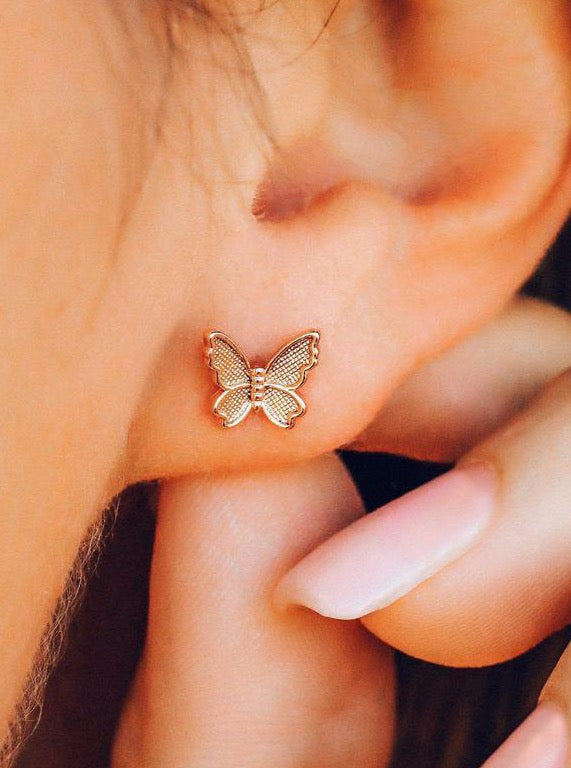 BUTTERFLY IN FLIGHT EARRINGS | 2 COLORS