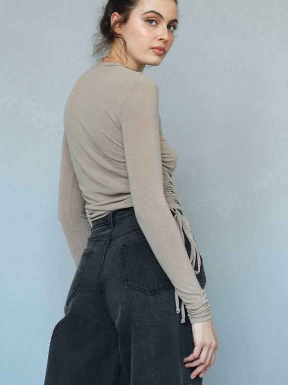 Slouchy Jeans in Black