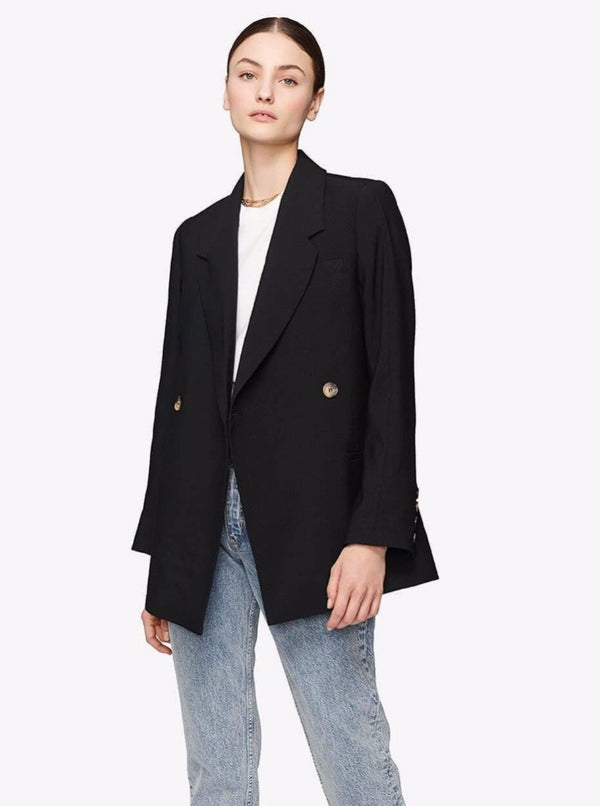 KAIA BLAZER IN BLACK