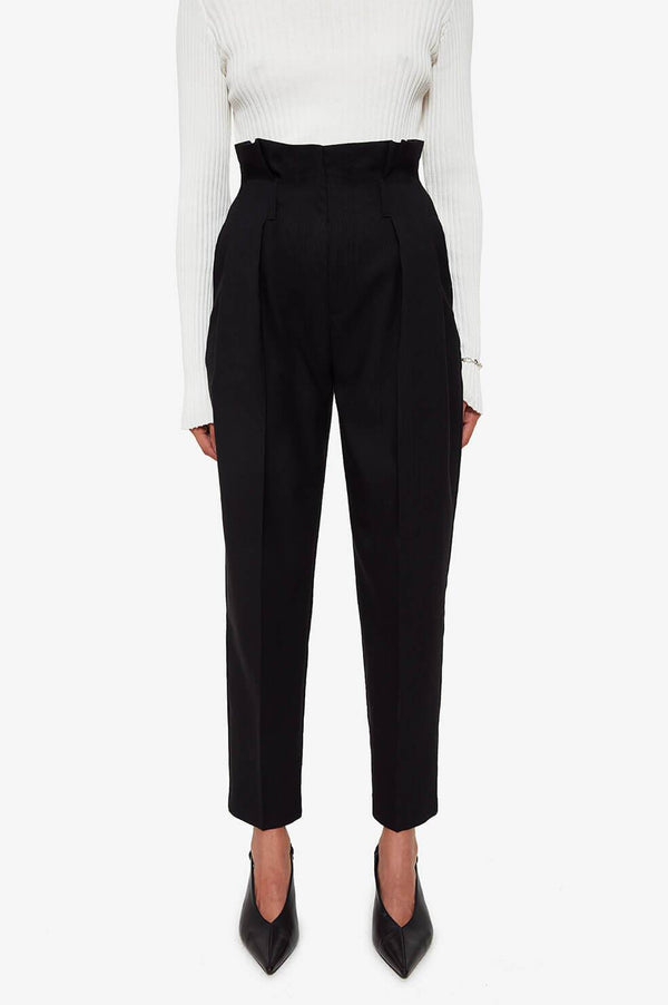 YVES TROUSER IN BLACK