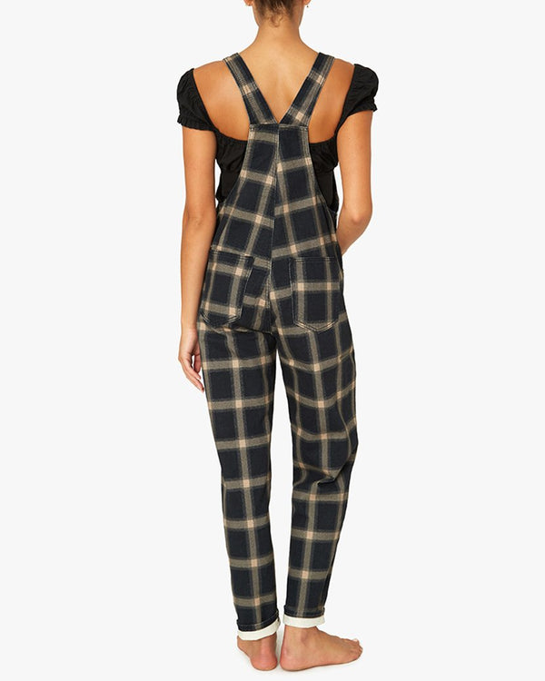 Basic Overalls Plaid