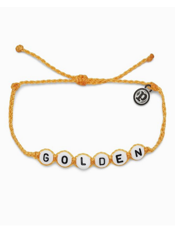 GOLDEN WORD BRACELET
