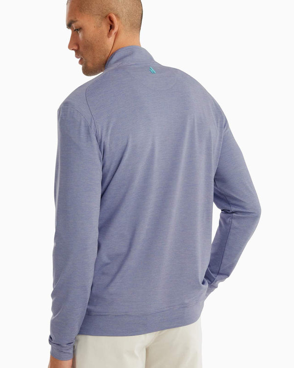 Vaughn Striped 1/4 Zip PREP-FORMANCE Pullover | 2 Colors