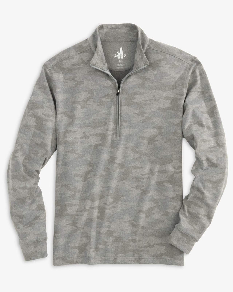 Rodney Printed PREP-FORMANCE Microfleece 1/4 Zip Pullover