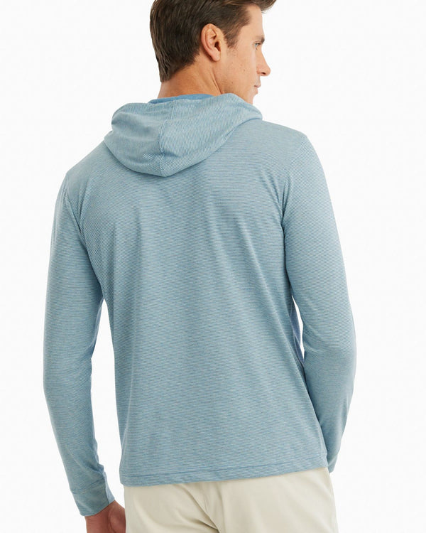 Gunnar Striped Long Sleeve Hooded T-Shirt | 2 Colors