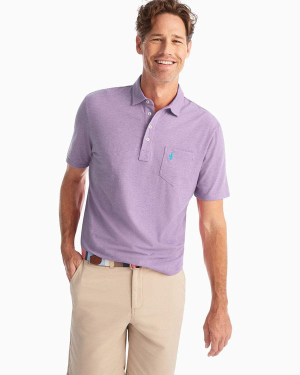 The Original 4-Button Polo Heathered | 3 Colors
