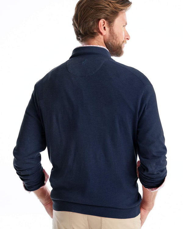 WILLIAM 1/4 ZIP DONEGAL
