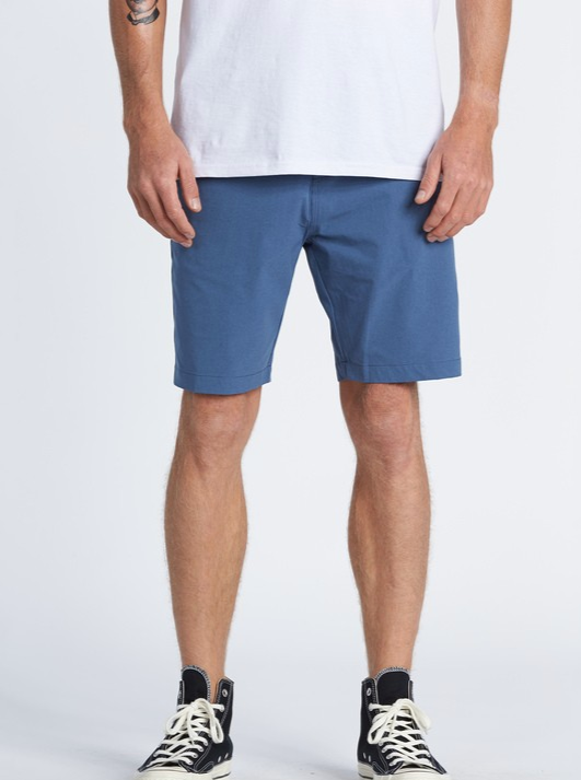 SURFTREK HEATHER WALKSHORTS | 4 COLORS