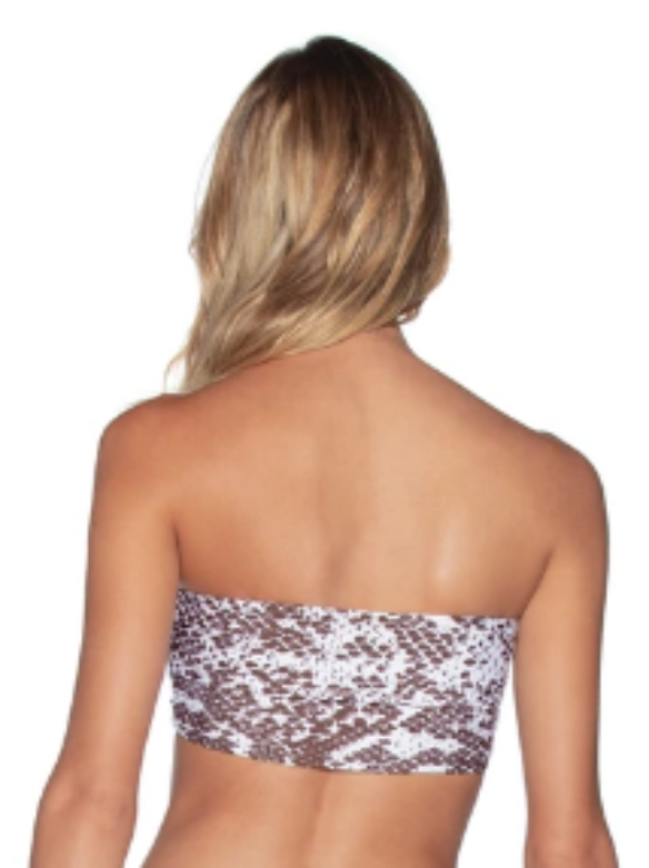 Ocean June 4-way Reverisble Bandeau Bikini Top