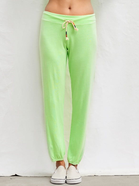 NEON SWEATPANT LIME