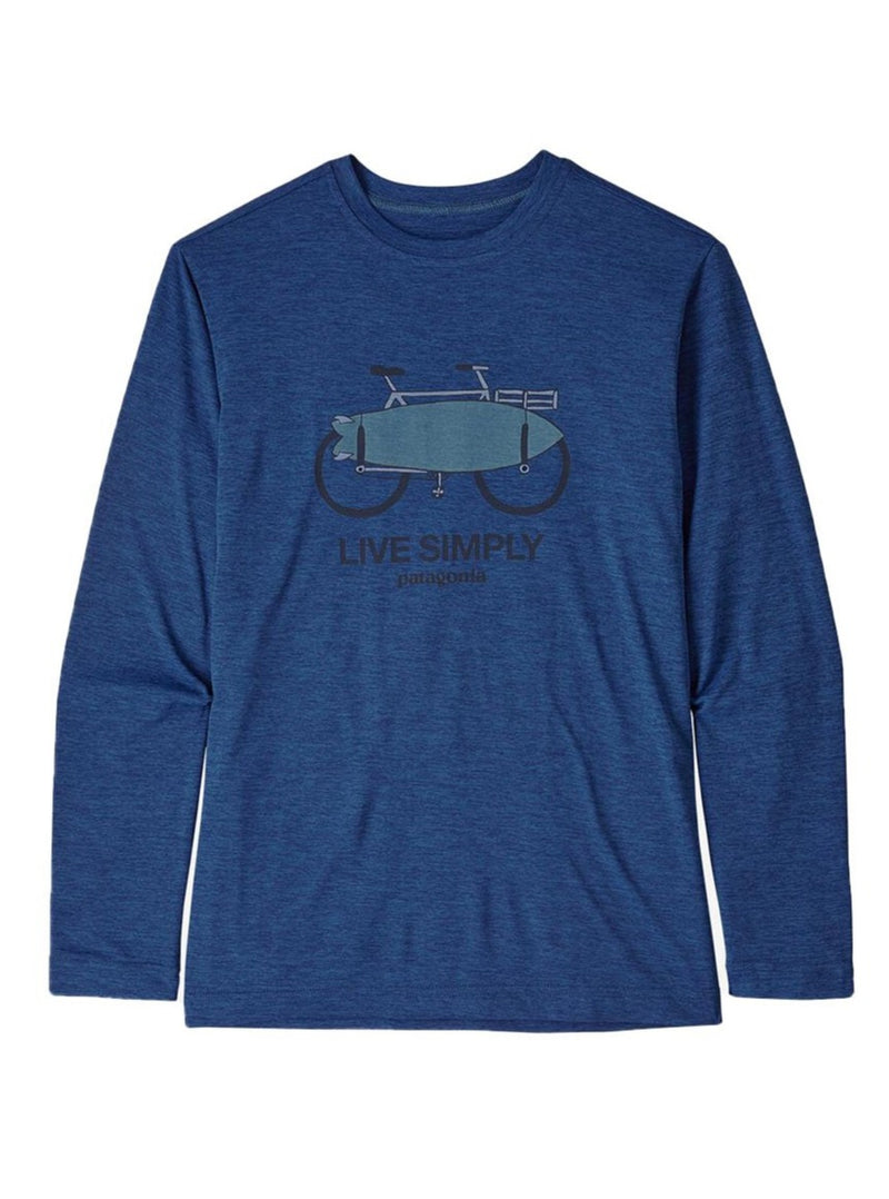 Boys' Long Sleeve Capilene Cool Daily Tee | 3 Colors
