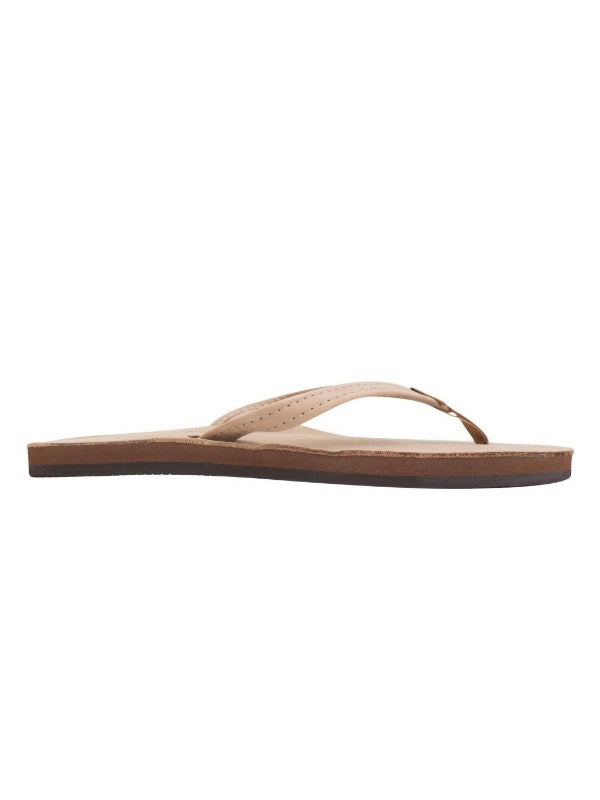 Leather Single Strap Flip Flop