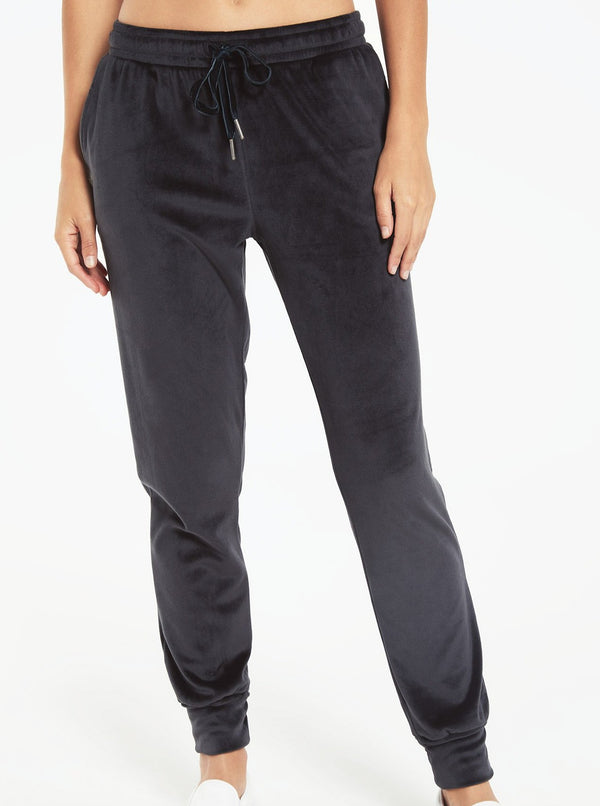 EVALYN VELOUR PANT | 2 COLORS