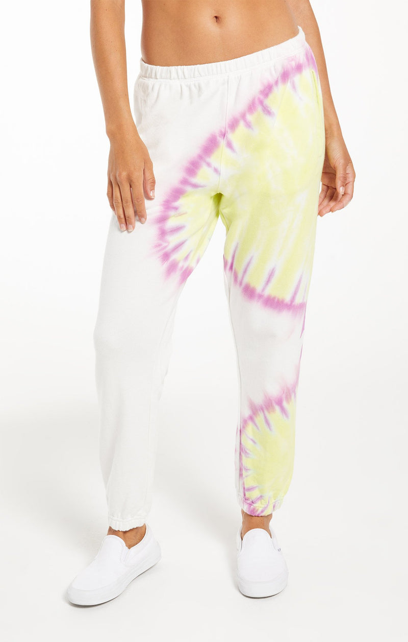 SUNBURST TIE DYE JOGGER | 2 Colors