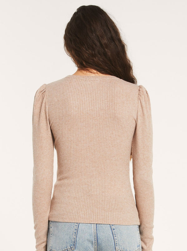 KAIYA RIB LONG SLEEVE