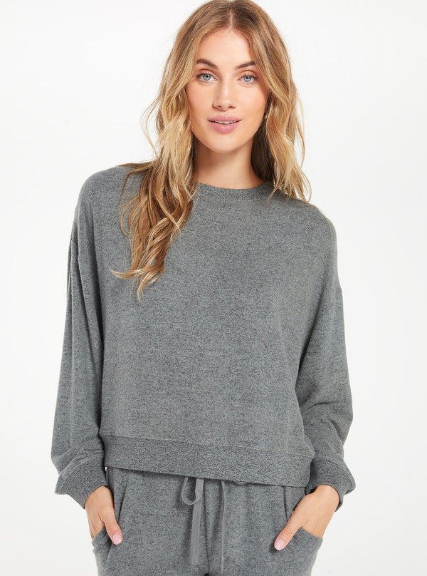 NOA MARLED TOP | 2 COLORS