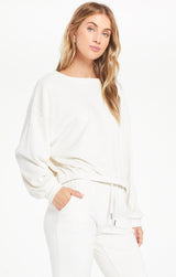 BODHI VELOUR SWEATSHIRT | 2 COLORS