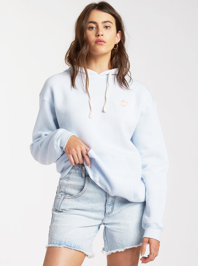 Cut Back Pullover Sweatshirt