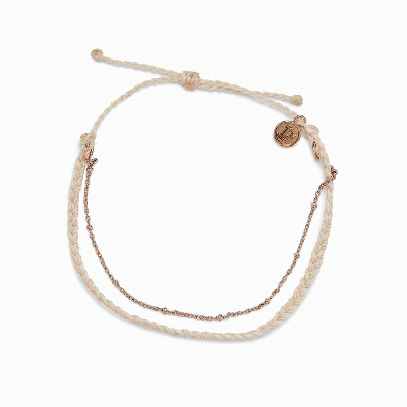 SATELLITE CHAIN ANKLET | 2 COLORS