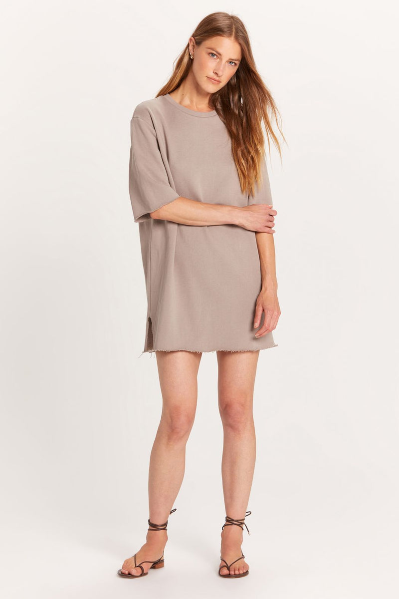 Solid Cotton Dress | 2 Colors