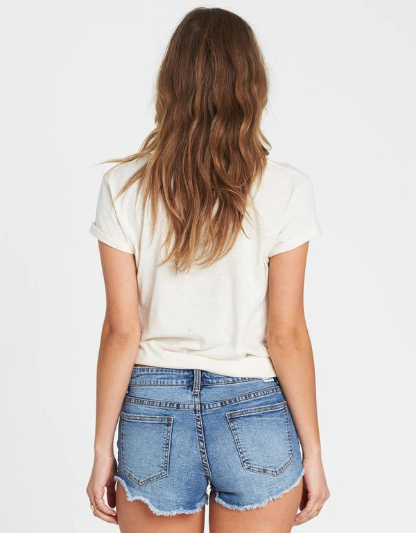 Buttoned Up Jean Short