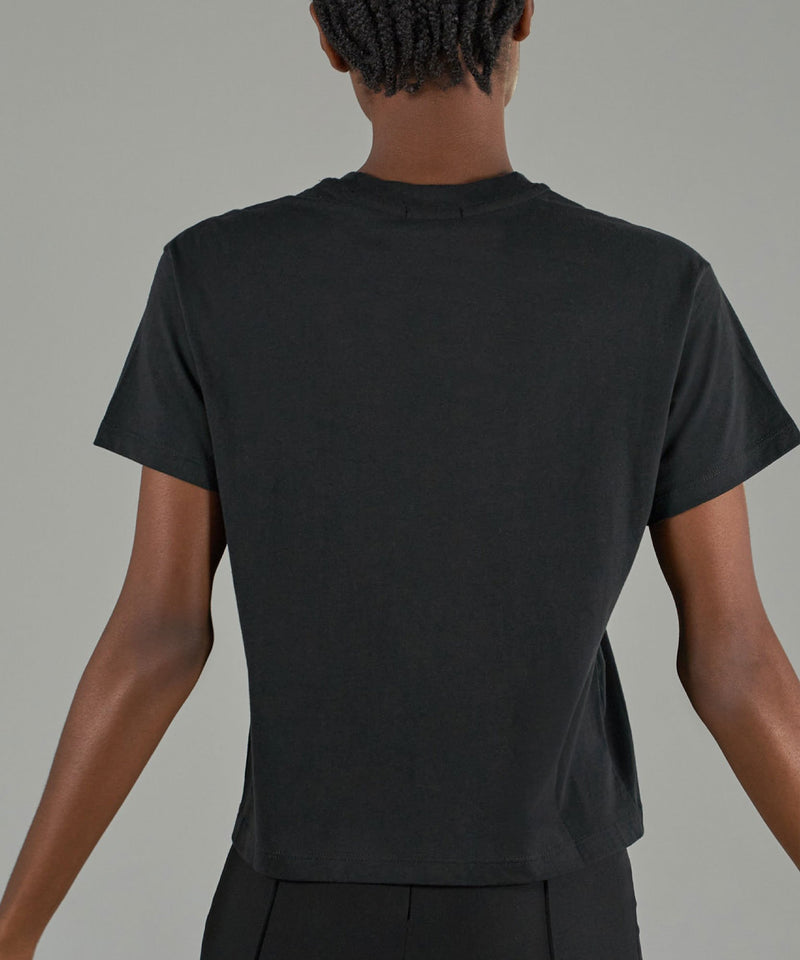 Classic Jersey Short Sleeve In Black