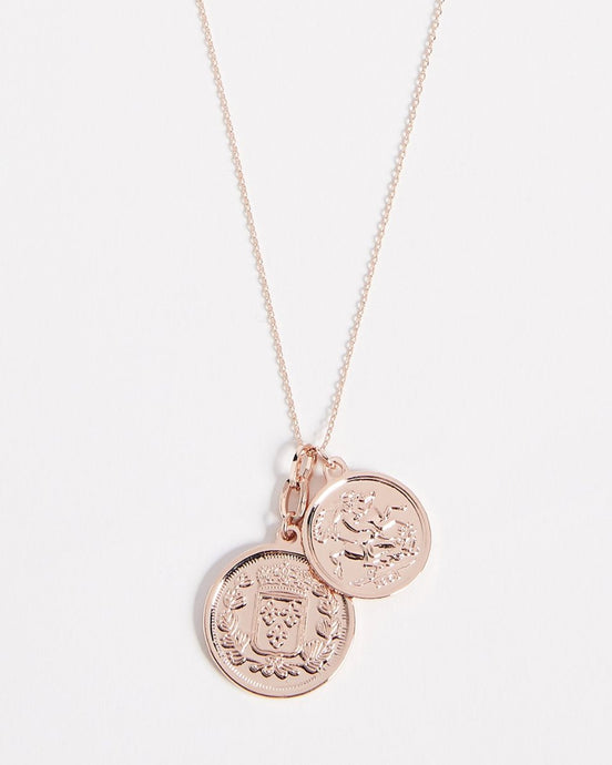 Peek Nickel Coin Necklace